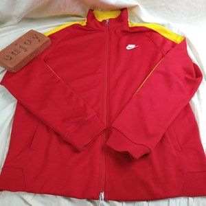 Nike Soccer Spain National Team Track Jacket Sz Lg